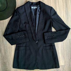 Black By Moussy Black Single Button Blazer XS